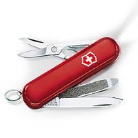 Нож раскладной Victorinox SwissLite Швейцарский нож на 7 функций красного цвета