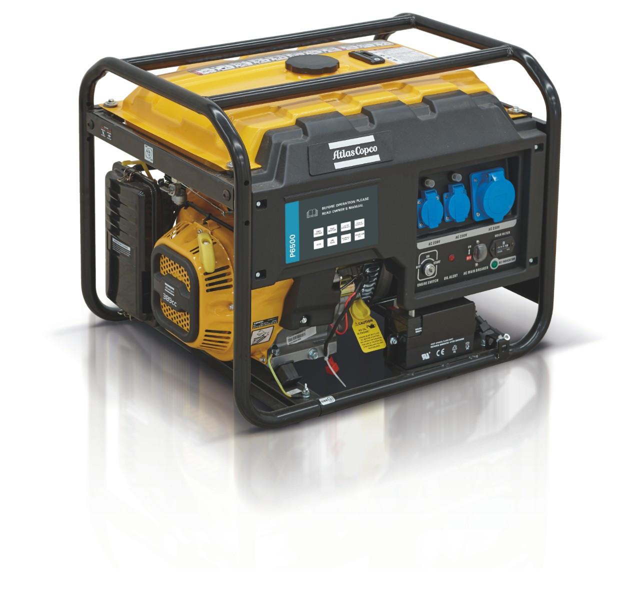 Генератор Atlas Copco P6500