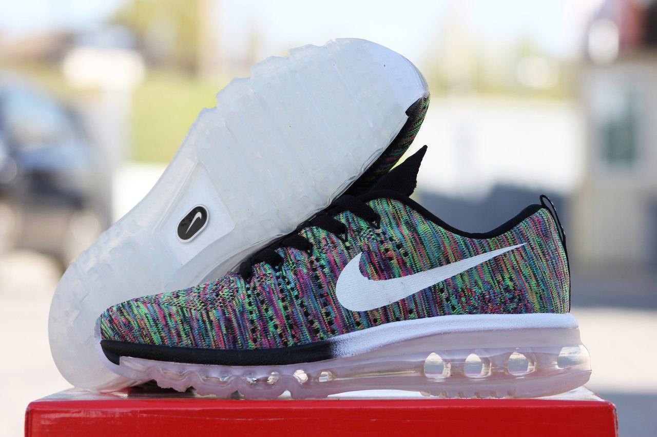 Женские кроссовки Nike Flyknit Air Max салатовые 2100 найк кроси жіночі  взуття спортивне обувь спортивная 6c689e73b7002
