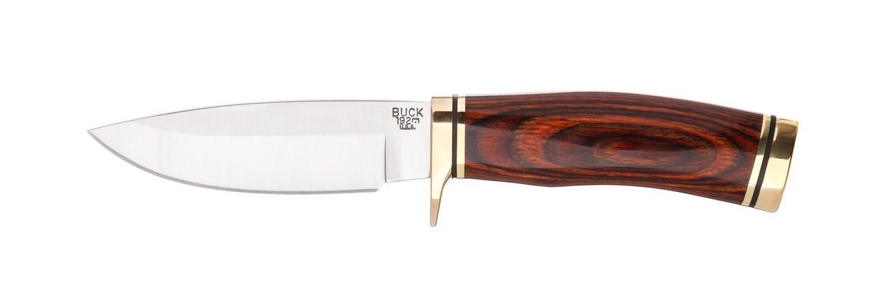 """Нож Buck  """"Vanguard"""" / охотничий нож с деревяной рукояткой"""