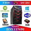 Супер игровой ПК ZEVS PC 11749U (mini Viper) i3 8100 4GB DDR4 +GTX 1050 2GB +Игры!