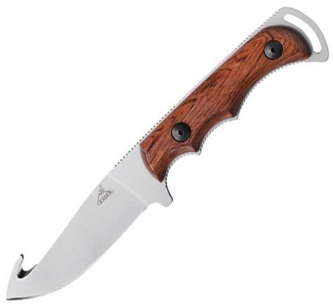 """Нож """"Gerber"""" / Охотничий нож с деревяной рукояткой"""