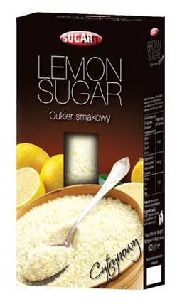 Сахар лимонный Sugart, 400г, фото 2