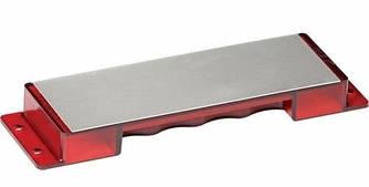 Точило Buck EdgeTek® Bench Stone Diamond Sharpener / Точильное приспособление для ножей красного цвета