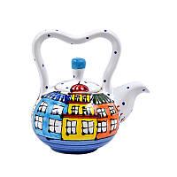 Чайник керамический Львовская керамика 1000 мл (382)