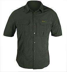 "Рубашка SAVANNAH-S ""Hart"" оливкового цвета"