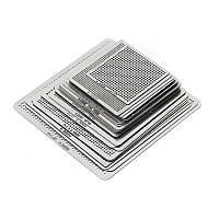 Набор универсальных трафаретов 27шт 0,25 0.3, 0.35, 0.4, 0.45, 0.5, 0.55, 0.6мм
