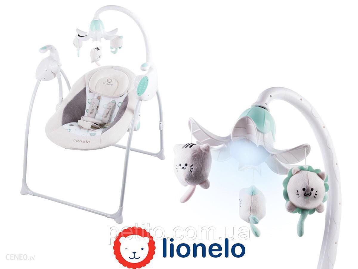 Детская качеля для младенцев со световыми эффектами Lionelo Robin