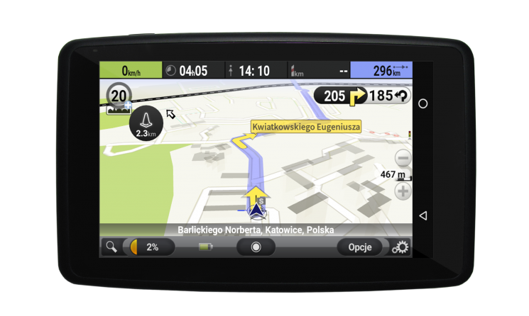 GPS-навигатор NAVROAD Uni AutoMapa EU