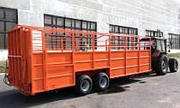 Трап-телега для перевозки свиней до 5 тонн