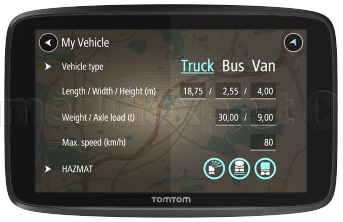 GPS-навигатор TOMTOM GO Professional 6200 WiFi EU (пожизненное обновление карт)