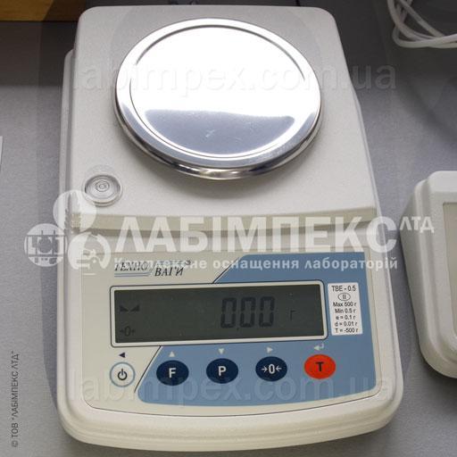 Весы лабораторные ТВЕ 05-001-a, 500 г х 0.01 г, 2 кл