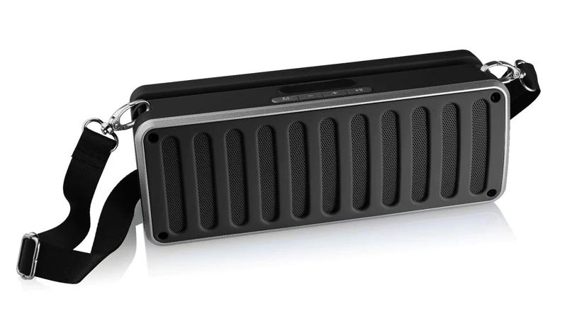 Портативная Bluetooth колонка SPS X11S LCD, черная