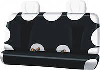 Чехлы на задние сиденья CLASSIC LINE / цвет: черный