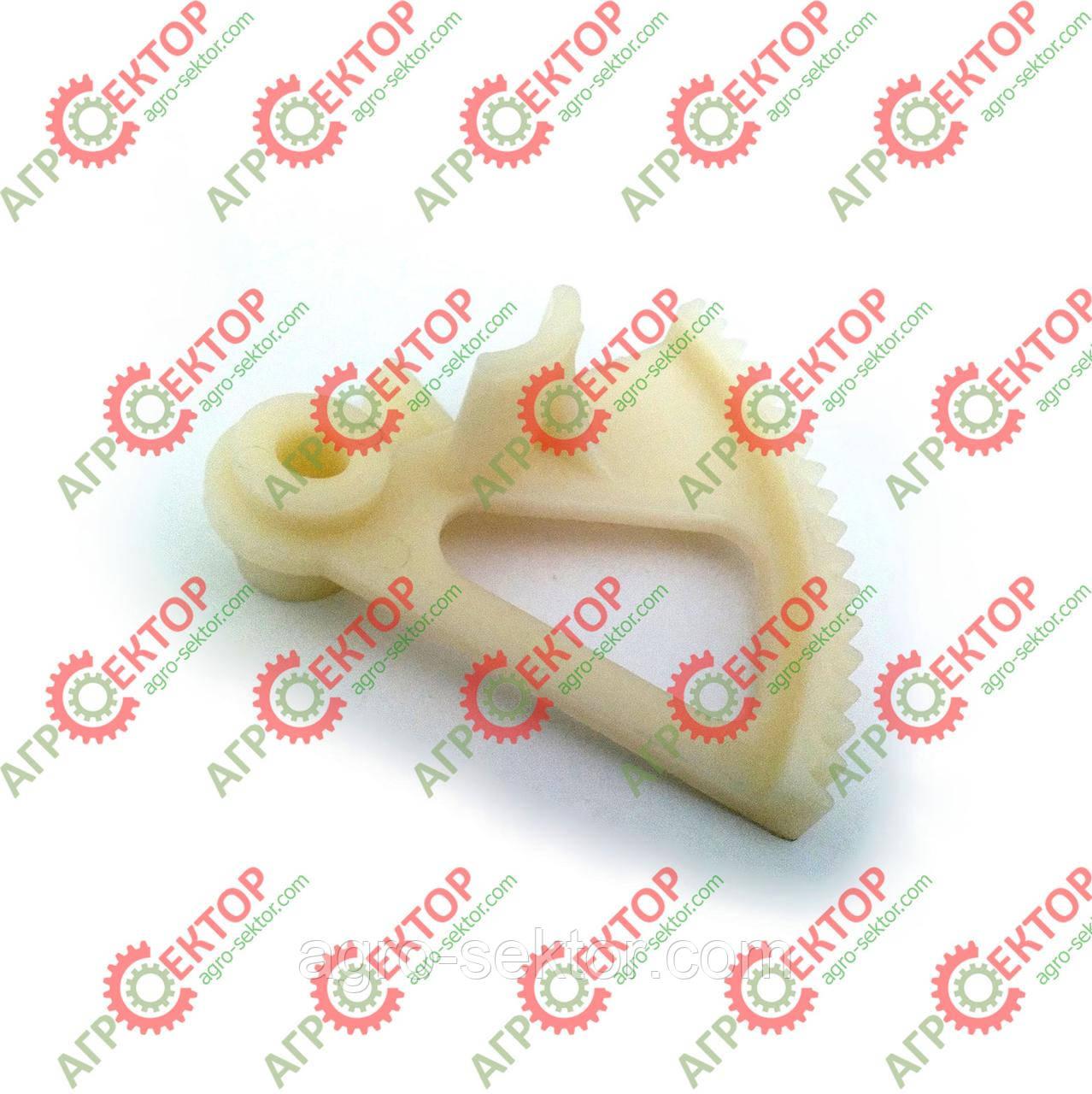 Зубчатый сектор регулироовки довжини тюка Сlaas Markant 800435.3