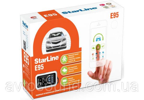Автосигнализация StarLine E95 BT 2CAN+LIN