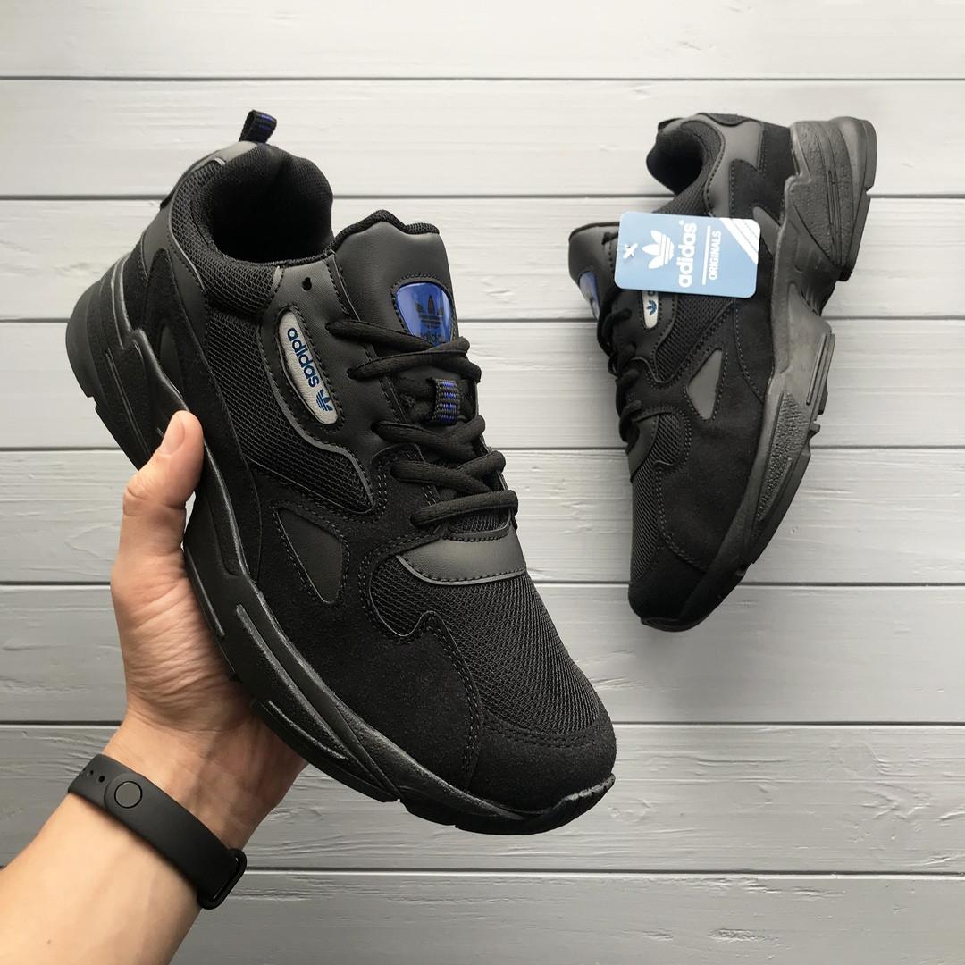 2cc673ac Мужские кроссовки Adidas Falcon черные, цена 1 079 грн., купить в ...