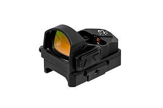 Прицел коллиматорный Bushnell AR Optics Engulf, Micro Reflex Red Dot 5 MOA черного цвета
