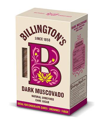 Сахар мусковадо темный Billington's, 500г, фото 2