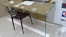 Стол письменный стеклянный Прайм