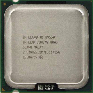 "Процессор Intel Core 2 Quad Q9550 2.83GHz/12MB/1333MHz (BX80569Q9550) s775 ""Over-Stock"""