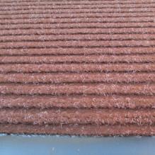 Коврик полипропиленовый на основе ПВХ с ворсом коричневый