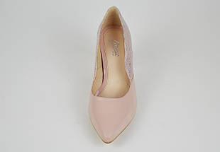 Туфли женские кожаные на каблуке Marco 1126, фото 3
