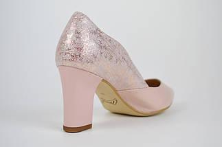 Туфли женские кожаные на каблуке Marco 1126, фото 2