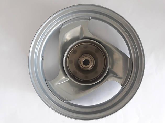 Диск задний YAMAHA JOG SA-16 5BM сірий, фото 2