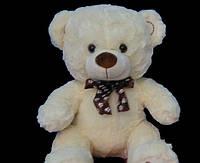 Мишка 52 см плюшевый медведь с бантом отличный подарок ребенку или девушке на День Рождения 8 марта