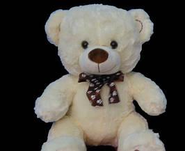 Мишко 52 см плюшевий ведмідь з бантом відмінний подарунок дитині або дівчині на День Народження, 8 березня