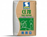 Шпаклівка для стиків гіпсокартону Semin CE 78, 25 кг