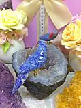 Птички-неразлучники, попугаи из натуральных самоцветов, фото 2