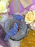 Птички-неразлучники, попугаи из натуральных самоцветов, фото 3