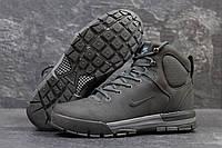 9c242d06 Мужские зимние ботинки Nike Air Nevist 6 серые 3529 (чоловічі черевики найк  взуття зимове обувь