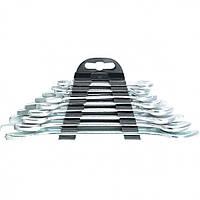 Набор ключей рожковых, 6 х 22 мм, 8 шт, хромированные, SPARTA