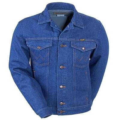 db5ebd16e91 Джинсовая куртка Wrangler Cowboy Cut Unlined Denim Jacket  продажа ...