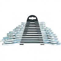 Набор ключей рожковых, 6 х 32 мм, 12 шт, хромированные, SPARTA