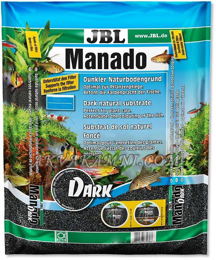 Грунт Manado Dark 5 литров. Черный Манадо для аквариума