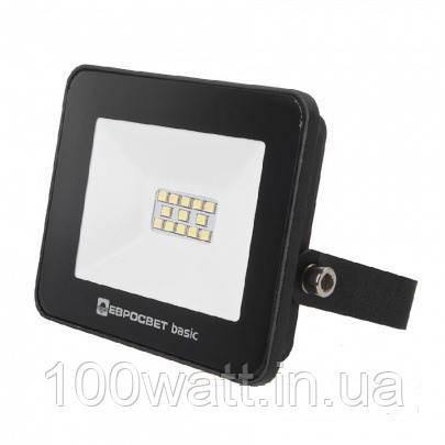 Прожектор светодиодный ES-10-504  10W SMD 6400К