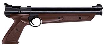 """Пистолет пневматический Crosman """"American Classic"""" кал.4,5 мм / Мультикомпрессионный пистолет"""