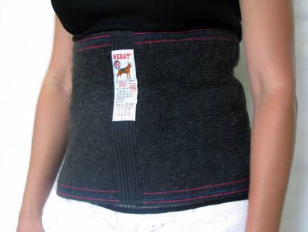 Пояс согревающий из собачьей шерсти Nebat - согревающий пояс для спины