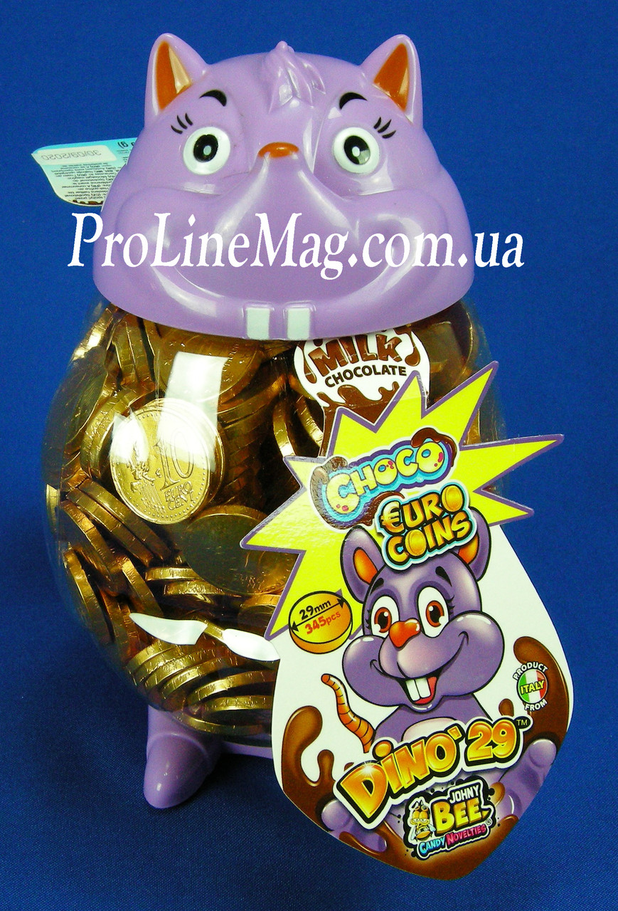 ШоколадныемонетыJOHNY BEE® Dino 29 мм