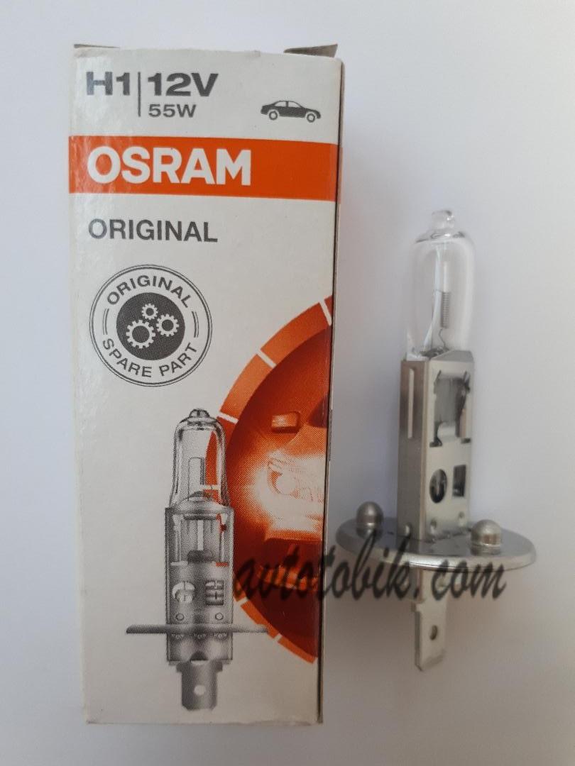 Автомобильная лампа Osram Original H1 12V 55W (1шт.)