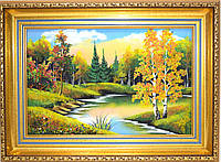 "Картина каменная крошка/ ""Ранняя осень"""