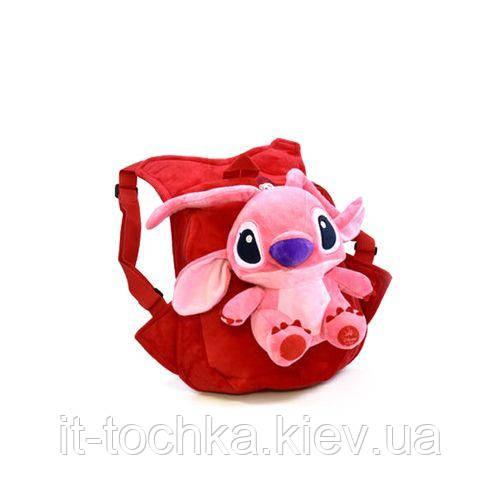 Детский мягкий рюкзак С33965 Лило и Стич: Ангел