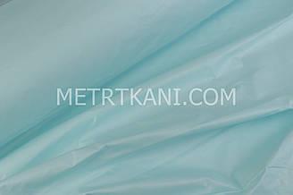 Однотонная польская бязь светло-лазурного  цвета 135 г/м2  №1382