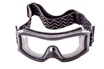 X1NDEI Очки тактические Bolle X1000 черного цвета с двойными прозрачными линзами