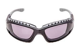TRACPSF Очки защитные Bolle Tracker с дымчатыми линзами фиолетового цвета