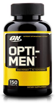Витамины Optimum Nutrition Opti-Men 150 таблеток, фото 2